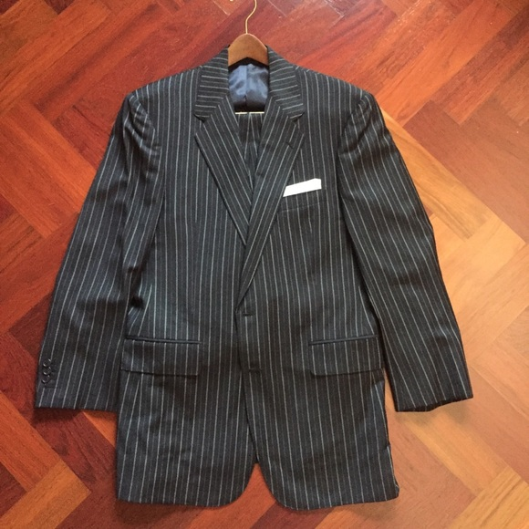 Other - Custom Made Italian fabric pinstripe suit.
